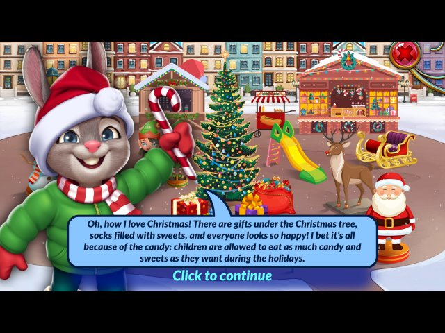 Game screenshot  «Shopping Clutter 2: Christmas Square» № 2