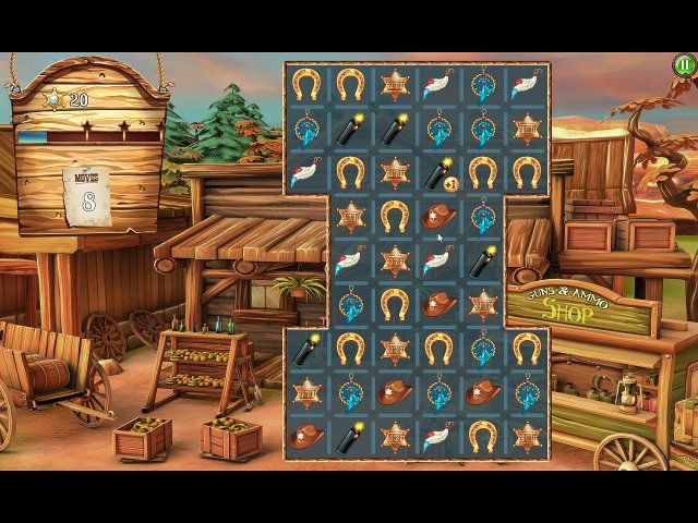 Game screenshot  «Solitaire Chronicles: Wild Guns» № 2