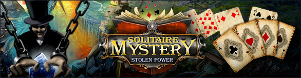 Game Solitaire Mystery Stolen Power