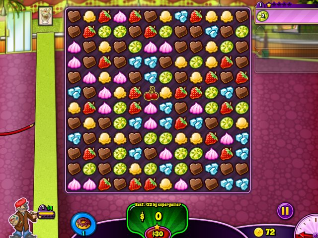 Game screenshot  «Sweet Shop Rush» № 2