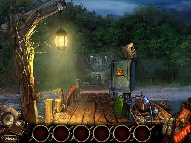 Game screenshot  «The Cursed Island: Mask of Baragus. Collector's Edition» № 6