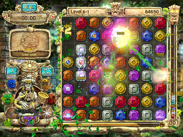 Game screenshot  «The Treasures of Montezuma 4» № 1