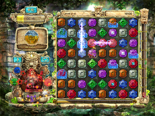 Game screenshot  «The Treasures of Montezuma 4» № 7