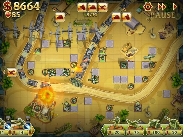 Game screenshot  «Toy Defense 2» № 4
