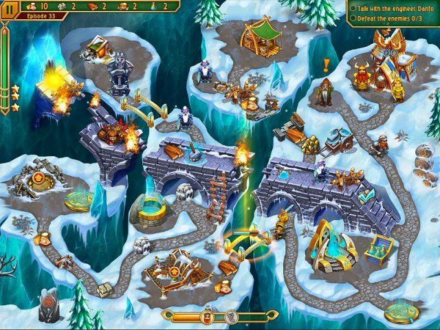 Game screenshot  «Viking Brothers 3. Collector's Edition» № 6