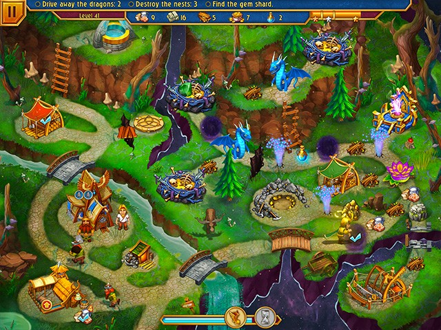Game screenshot  «Viking Brothers 5» № 2