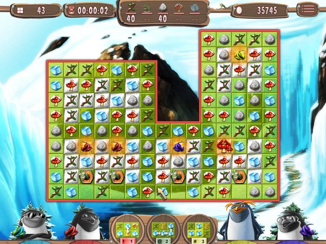 Game screenshot  «Yeti Quest: Crazy Penguins» № 3