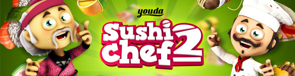 Game Youda Sushi Chef 2