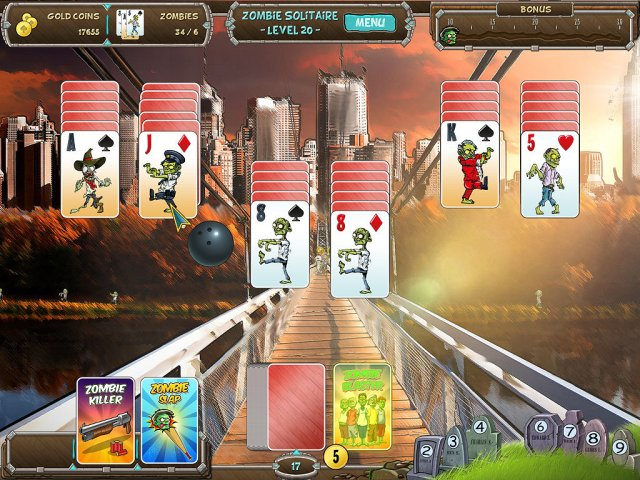 Game screenshot  «Zombie Solitaire» № 3