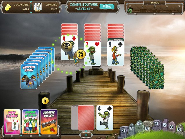 Game screenshot  «Zombie Solitaire» № 4